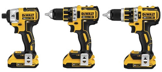 New Dewalt Brushless Drills and Drivers