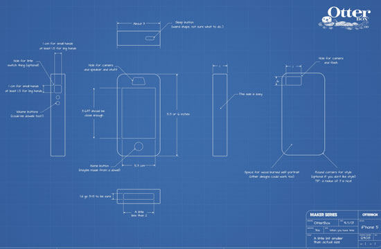 Otterbox diy smartphone case Blueprint builder free