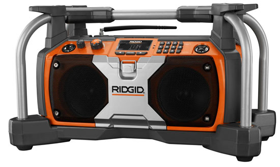 Ridgid Jobsite Radio Older Style R8408