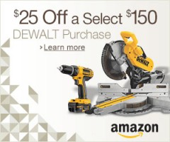 Father's Day Sale: Save $25 off $150+ Dewalt Orders