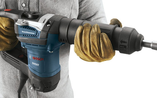 Bosch DH507 Demolition Hammer Front Grip