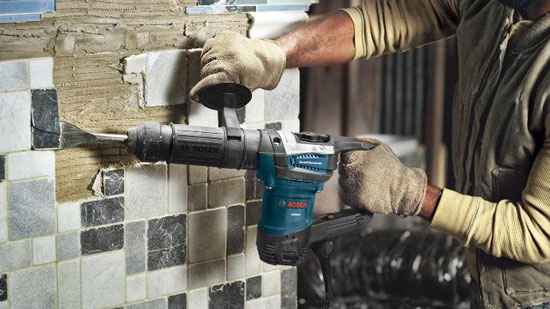 Bosch DH507 Demolition Hammer Tile Removal