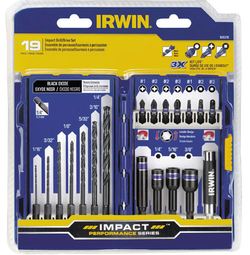 new irwin high performance impact drill and driver bits. Black Bedroom Furniture Sets. Home Design Ideas