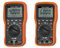 Two New Klein RMS Multimeters: MM5000, MM6000