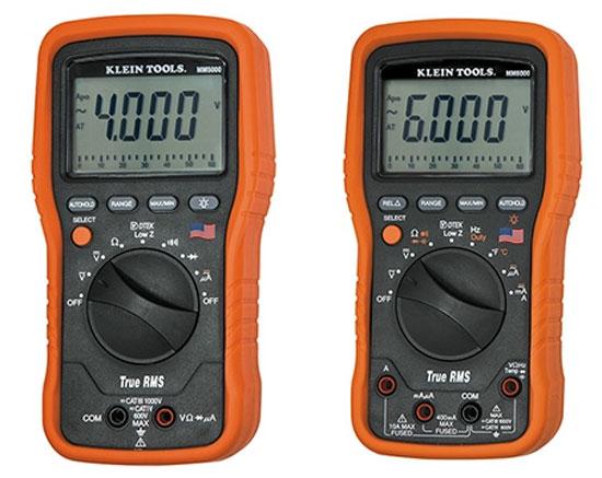 Klein MM5000 MM6000 Digital Multimeters