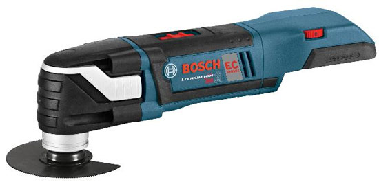 Upgrade Your Gear Giveaway: Bosch 18V Brushless Oscillating Multi-Tool Package!