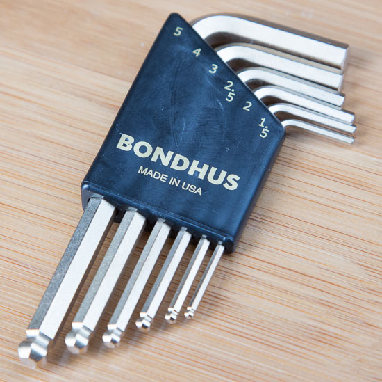 Carbide Processors Mini Bondhus Ball Hex Key Set
