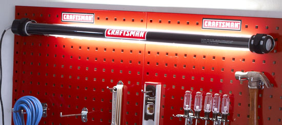 New Craftsman Fluorescent Shop Work Light