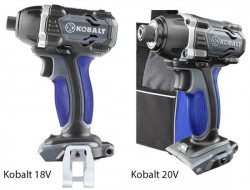 """""""New"""" Kobalt 20V Cordless Power Tools"""