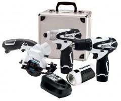 Lighting Deal: Makita 12V 4pc Cordless Power Tool Combo Kit