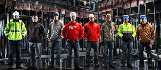 Milwaukee M12 Heated Hoodies and Jacket Colors