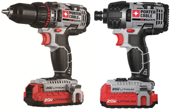 Good Buy: Porter Cable 20V Drill and Impact Driver Combo Kit
