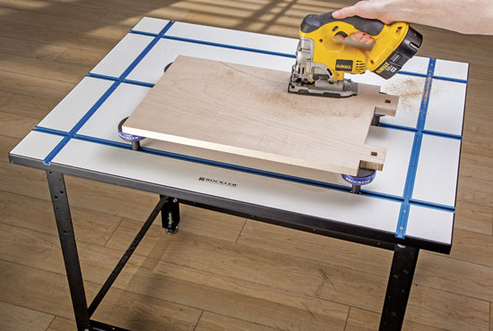 New Rockler T Track Table For All Your Clamping And