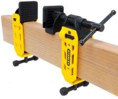 Stanley 2 x 4 Beam Clamp Attached to Lumber