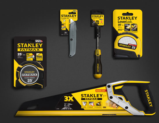 In addition to the new logo it looks like Stanley designers have
