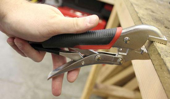 Blackhawk Locking Pliers Release Mechanism