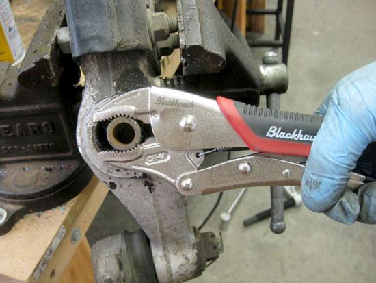 Blackhawk Locking Pliers Rounded Grip