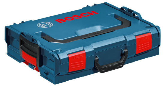 'Bosch L-Boxx-1 Tool Case' from the web at 'http://toolguyd.com/blog/wp-content/uploads/2013/07/Bosch-L-Boxx-1-Tool-Case.jpg'