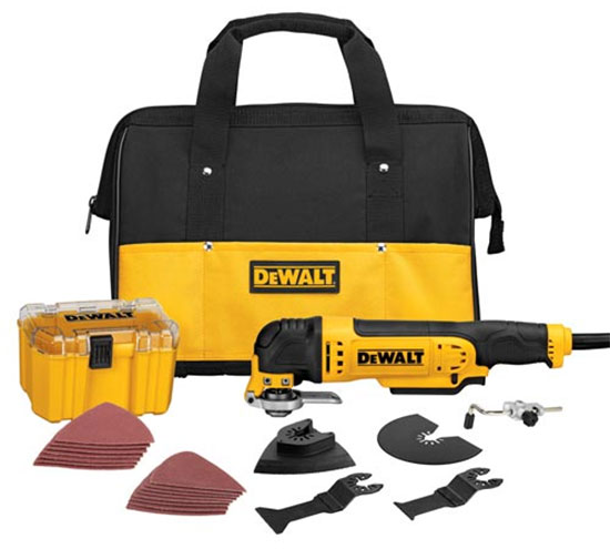 Dewalt Oscillating Multi Tool on de walt brushless motor power tool