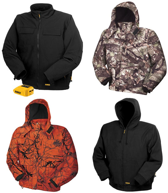 """206c3847689b5 Save """"up to 40%"""" on Dewalt Heated Jackets Preorder Deal"""