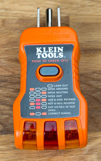 Klein Rt600 Outlet Tester Review