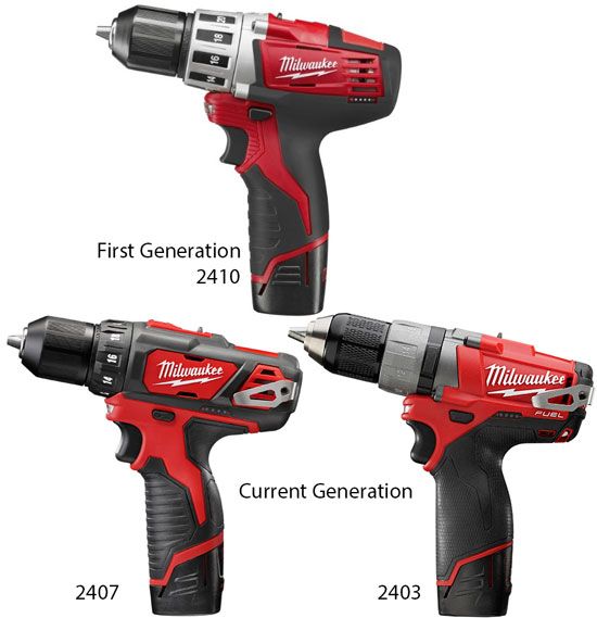 new milwaukee upgraded m12 cordless drills and drivers. Black Bedroom Furniture Sets. Home Design Ideas