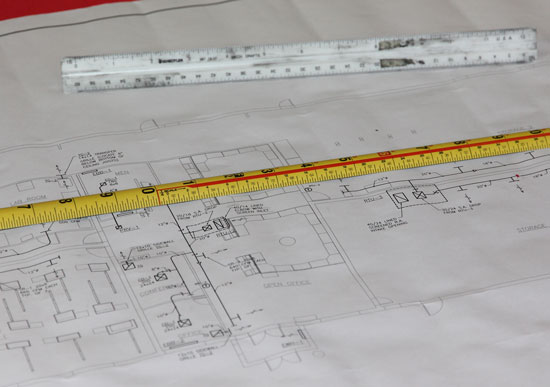 Milwaukee Tape Measure Blueprint Scale