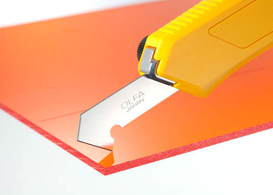 Plastic Scoring Knife The Best Way To Cut Sheet Materials