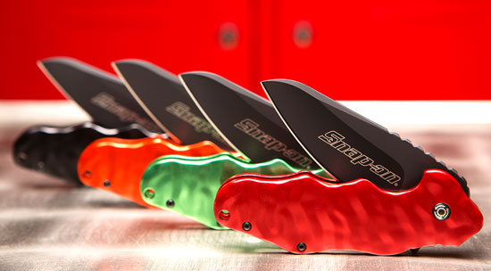 New Snap-on Wrinkle Pocket Knife (by CRKT & Onion)