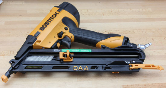 Review: Bostitch DA1564K Angled Finish Nailer