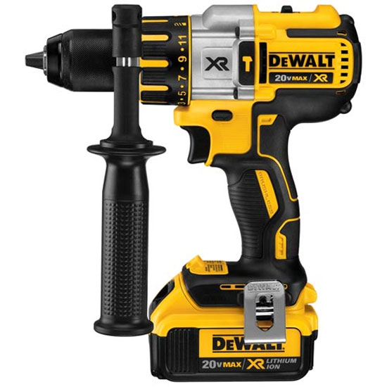 First Look: Dewalt 20V XR Brushless Premium Hammer Drill