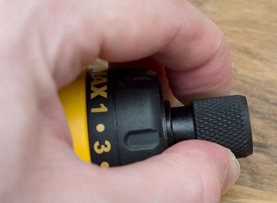 Dewalt 8V Gyroscopic Screwdriver Quick Chuck