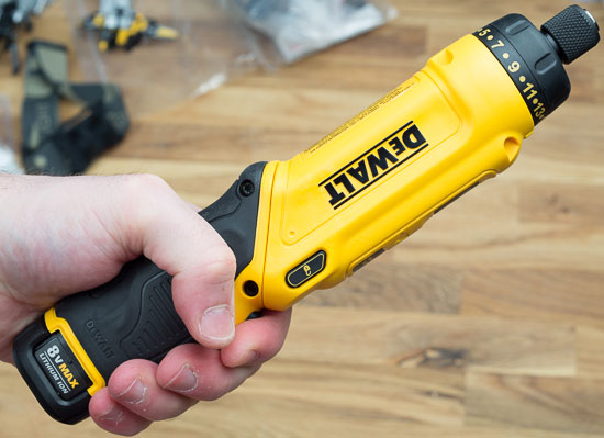 Review Dewalt 8v Gyroscopic Cordless Screwdriver