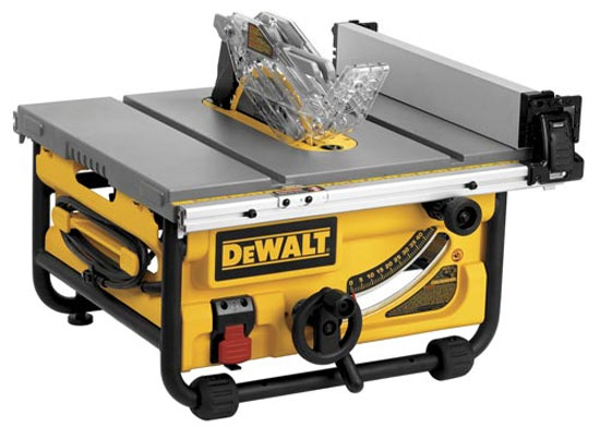 New Dewalt Jobsite Table Saws