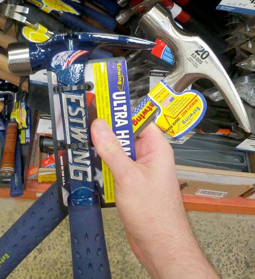 estwing ultra hammer vs claw hammer