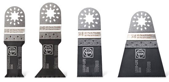 New Fein Multi-Mount Oscillating Tool Blades