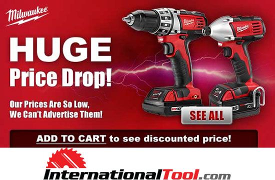 deal: $100 off milwaukee m18 xc kits, including fuel preorders!