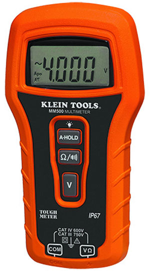 Tested: Klein's new Rugged and Waterproof Multimeter