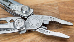 'Leatherman Skeletool Multi-Tool Review – a Minimalist but Very Handy EDC Companion' from the web at 'http://toolguyd.com/blog/wp-content/uploads/2013/08/Leatherman-Skeletool-Pliers-250x142.jpg'