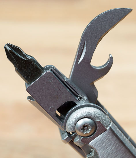 Leatherman Wave Screwdriver and Bottle Can Opener