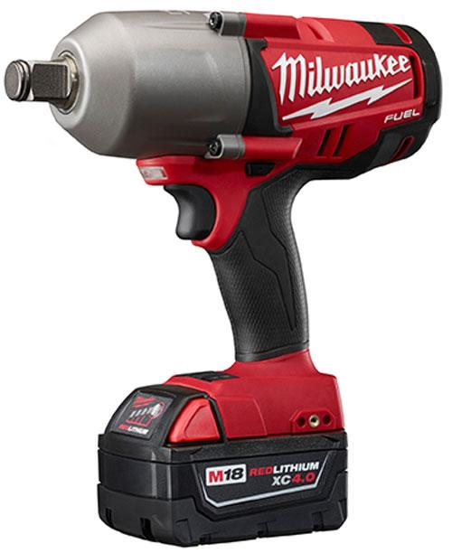 Milwaukee M18 Fuel Brushless Impact Wrench Three Quarter Ring