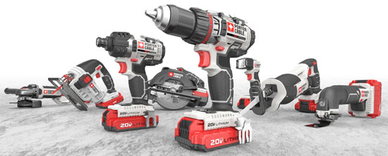 Porter Cable Expands 20V Max Cordless Tool Lineup