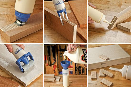 Rockler Glue Applicator Kit Uses
