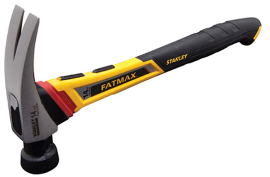 Stanley FatMax AntiVibe Hammer 2nd Generation