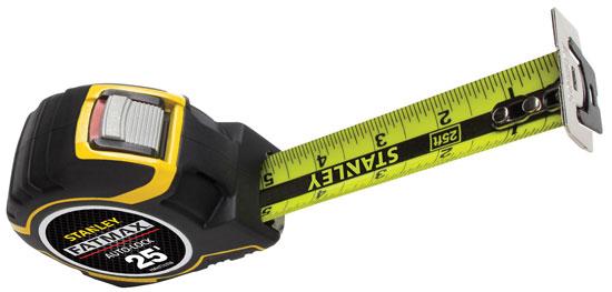 Stanley FatMax Auto-Lock Tape Measure