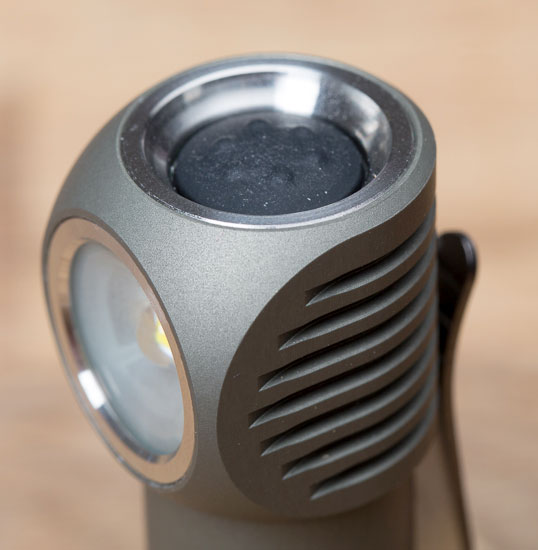 Zebralight H502W LED Headlamp Push Button