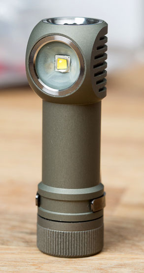 Zebralight H502W LED Headlamp Upright