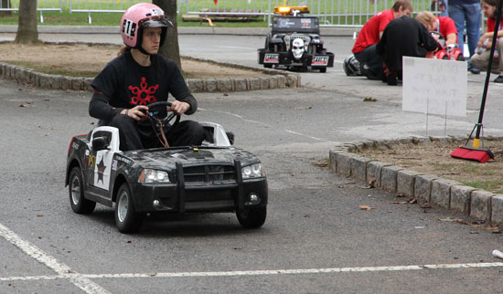 2012 Maker Faire Power Wheels Race
