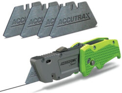 This Accutrax Graphite Blade Turns Your Utility Knife into a Marking Pencil