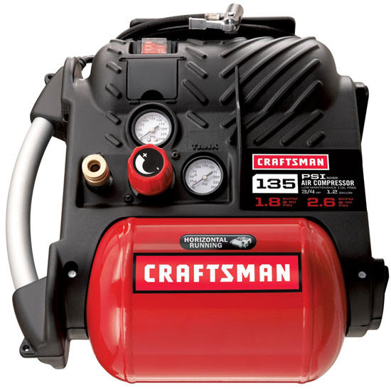 craftsman airboss portable air compressor